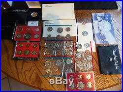Complete Collection Susan B Anthony Dollars 1979,80,81 Proof Set & Mint Sets