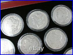 Complete Date Set of Morgan Silver Dollars 28 Coins (1895 1894 1893) Q1