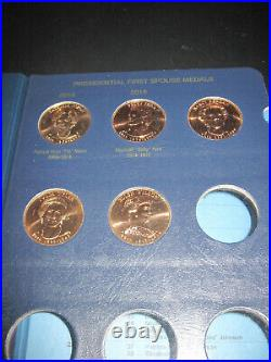 Complete First Spouse Medal Set 2007 2016 41 Medals