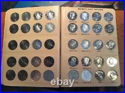 Complete Kennedy Half Dollar Set 1964-2011 P-D-S-Proof and S-Silver Proof