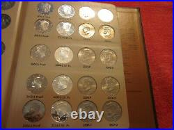 Complete Kennedy Half Dollar Set 1964 Thru 2021 P-D-S-Proof and S-Silver Proof