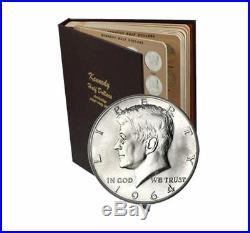 Complete Kennedy Half Dollar Set in Dansco Album (Uncirculated) 1964-2016
