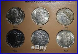 Complete Morgan Silver Dollar Year Set 28 coins VERY HIGH GRADE! Free Shipping