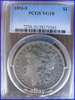 Complete PCGS Graded 117 Coin Morgan Silver Dollar Set