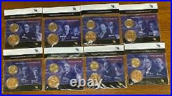 Complete Presidential $1 Coin And First Spouse Medal Set All 40 Sets