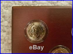 Complete Presidential Dollar Coin Set, Uncirculated, 13 coins of each President