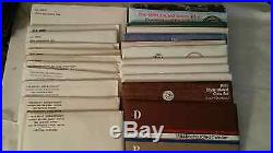 Complete Run Us Uncirculated Mint Sets Dated 1968 To 1998 29 Total Sets