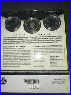 Complete Series of US Mint America The Beautiful 3 Coin Sets