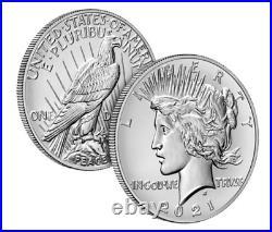 Complete Set 2021 Morgan Silver Dollars (O, CC, S, D, P, Peace) CONFIRMED