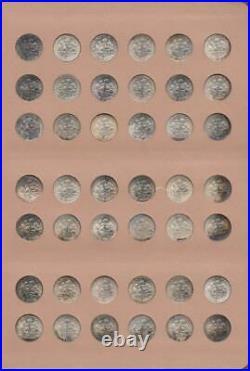 Complete Set Choice Bu/proof Roosevelt Dimes 1946-1978-s Dansco Album