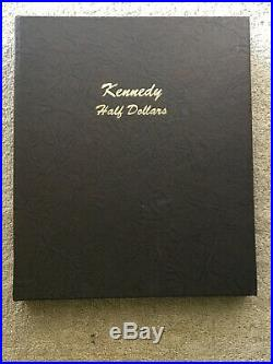 Complete Set Dansco Kennedy Half Dollar 1964-2014 P&d Collection 94 Coins