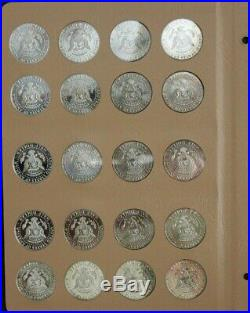 Complete Set Kennedy Half Dollars PDS & Silver Proofs 2012 2019