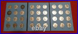 Complete Set Kennedy P&D Half Dollar coins, 1964-2019 with 3 albums & 1970D No-585