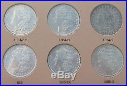 Complete Set Of 1878 1890 P/CC/O/S Mints Morgan Silver Dollars, Total 48 Coins
