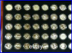 Complete Set United States Proof Silver State Quarter Set 50 States