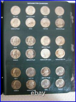 Complete Set Washington Quarters, BU to Gem BU 1932 1998 Grand and Spectacular