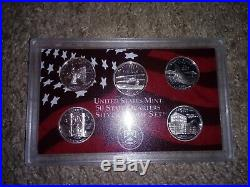 Complete Set of 1999-2008 U. S. 90% SILVER PROOF State Quarters 50 coins us mint