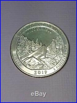 Complete Set of 2019 ATB W+P+D+S+S+S National Park Quarters 30 Coin Set