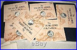 Complete Set of 25 British Virgin Islands Treasure $20 Coins of the Caribbean