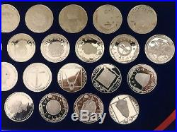 Complete Set of 25 Coins British Virgin Islands Treasure Coins of the Caribbean