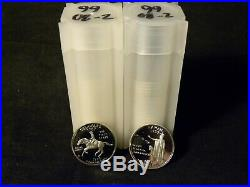 Complete Set of 50 S 90% Silver State Quarters 1999-2008 50 Coins Total