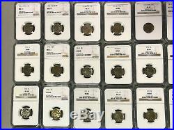 Complete U. S Buffalo Nickel Date Set Ngc Ms Many D & S