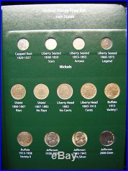 Complete United States Type Coin Set See This Wow
