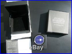 Complete set (6) STAR WARS SHIPS 1 oz Silver Coins 2$ Niue 2017