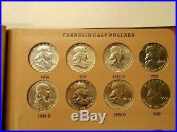 Complete set Franklin half dollars (Nice BU Set)