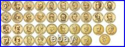 Complete set of All 39 Presidential Dollar Coins 2007-2016 P-MINT