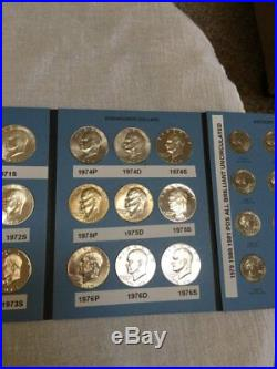 Eisenhower And Anthony Dollars Complete Set of Each including Proofs