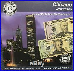 FEDERAL RESERVE EVOLUTIONS! RARE. COMPLETE SET From All 12 Banks 2004 Series