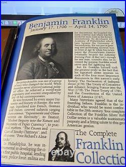 FRANKLIN HALF DOLLAR COMPLETE SET Uncirculated