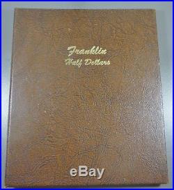 FRANKLIN HALF DOLLAR SET 1948 1963 Complete Set 35 GEM Coins Dansco Album