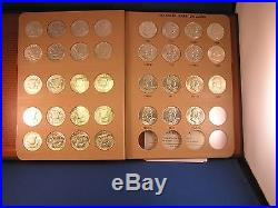 FRANKLIN HALF DOLLAR SET 1948 1963 Complete Set 35 GEM Coins in Dansco ALBUM