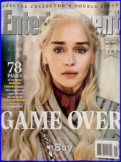 Game Of Thrones Entertainment Weekly Complete Set New Uncirculated 16 Covers