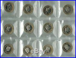 Gibraltar 2 Pounds 1997-2000 Labors of Hercules Complete Set