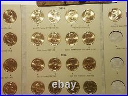 HE Harris Vol 2 UNC Complete Set (P&D) 2012-2016 Presidential Dollars 38 Coins