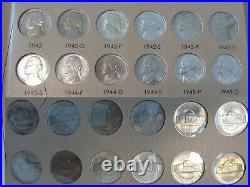 Jefferson Nickel Complete BU Set(1938-2018)+Proofs All Uncirculated PROFESSIONAL