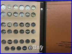 Jefferson Nickel Set BU Uncirculated & Proof Complete 1938-1993 Dansco 159 Coins