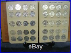 John F. Kennedy half dollar complete Gem BU set 1964-2017 In Dansco Alb