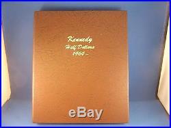 John F. Kennedy half dollar complete gem BU set 1964 2018 P & D in Dansco Album