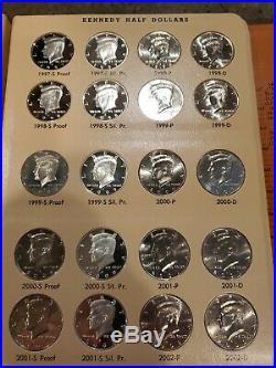 Kennedy Half Dollar Complete Set plus bonuses