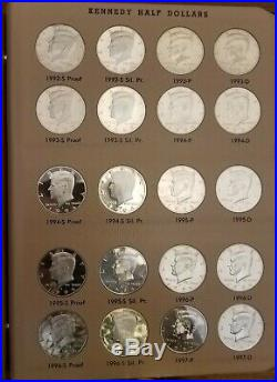 Kennedy Half Dollars Complete Set Gem BU / Proof 1964 2018 PDSS
