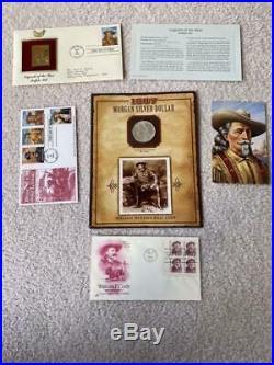 Legends of the West 18 BU Morgan Silver Dollars 1878-1899 Sealed Complete Set