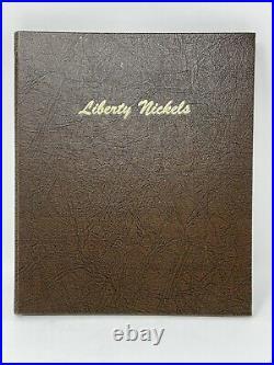 Liberty V Nickel 34 Coin Complete Set Dansco Album 1885,1886,1912S & Racketeer