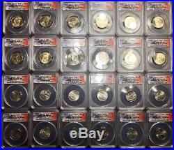 Limited 2009 ANACS SP69 Complete P&D 36 Coin Set Only 492 Ever Produced