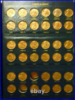Lincoln Cents Complete set -1.1909 to1987. Very high grade