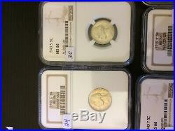 MS 66 NGC Complete War 5C Nickel Set, 11 Coins, GORGEOUS SET