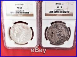Morgan Dollar Complete Set 1878-1921 Very high grade set